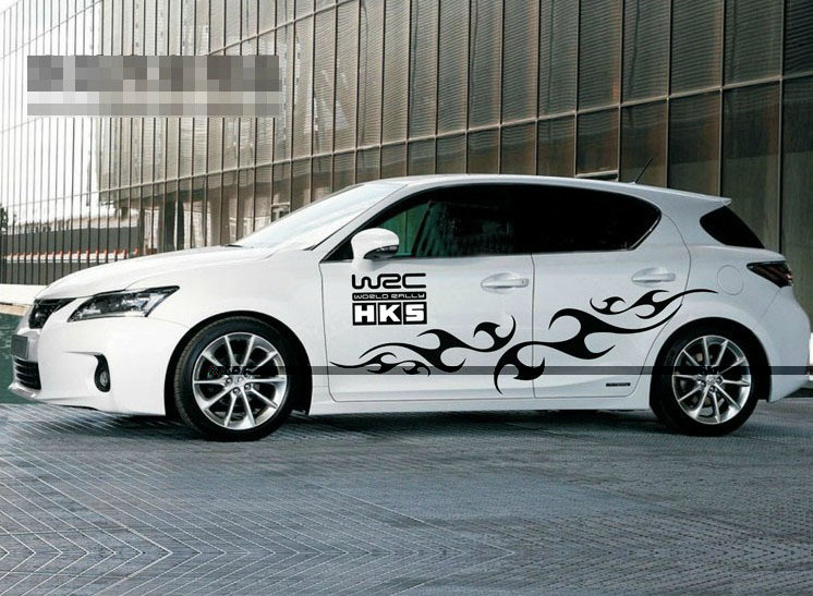 Free Shipping Custom Made Car Full Body Styling Sticker Adhesive - Lexus custom vinyl decals for car