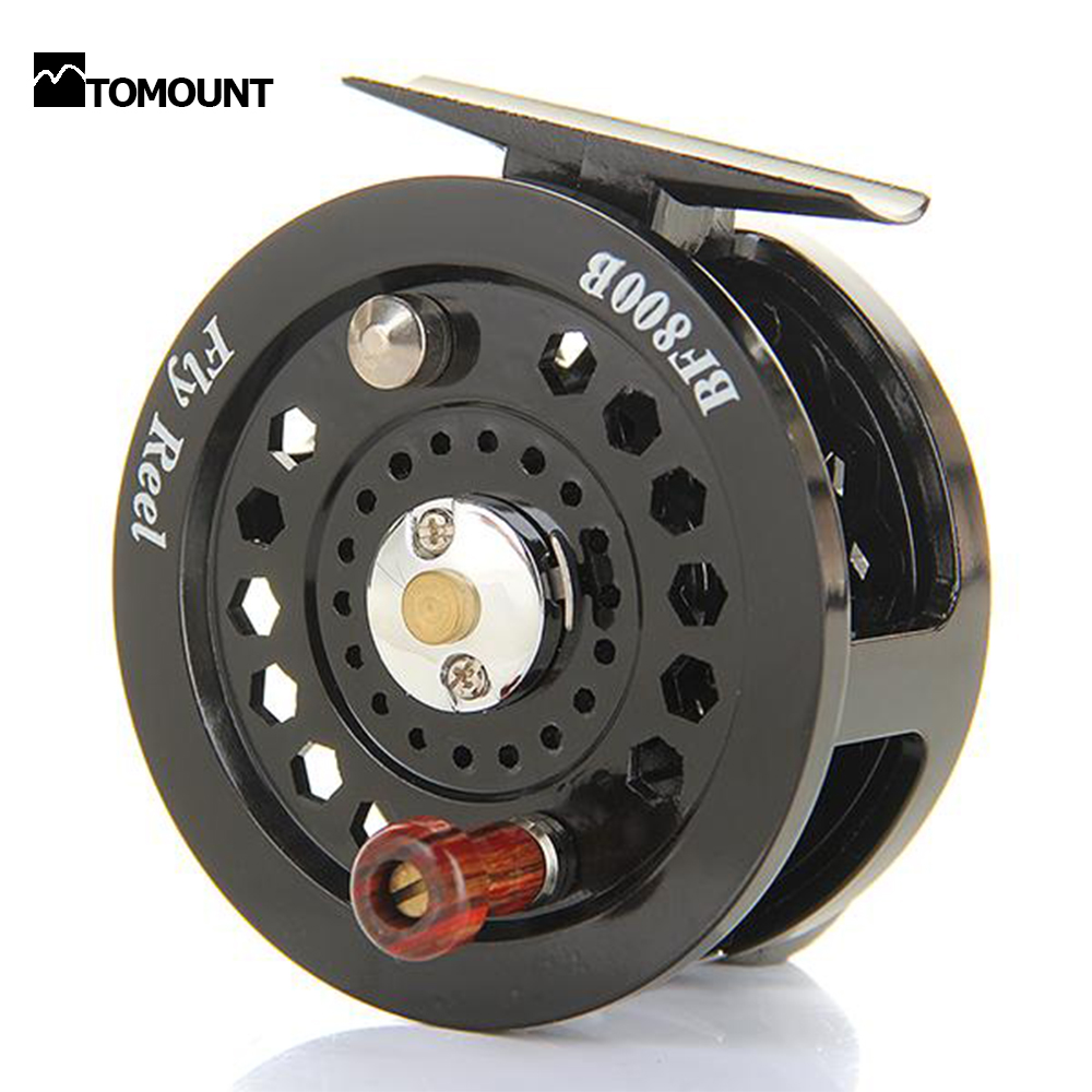 Freshwater Fly Fishing Reel BF800B Loop Right Left Handed 3/150 Black Saltwater Ice Vessel Fishing Tools Sale