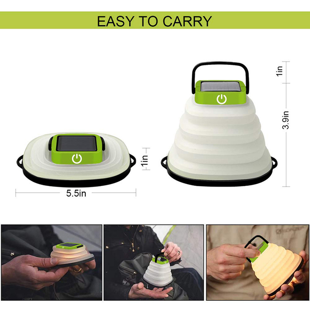 Portable Solar Camping Light  2
