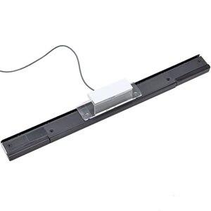 Image 5 - 1Pcs Wired Infrarot IR Signal Ray Motion Sensor Bar/Empfänger Für U Nintend Wii PC Simulator Sensor Bluetooth inductor Mit USB