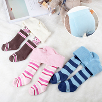 Baby Tights Cotton 0 3Y Girl Pantyhose Newborn Clothing Soft Toddler Infant Kids Girls Tights Soft