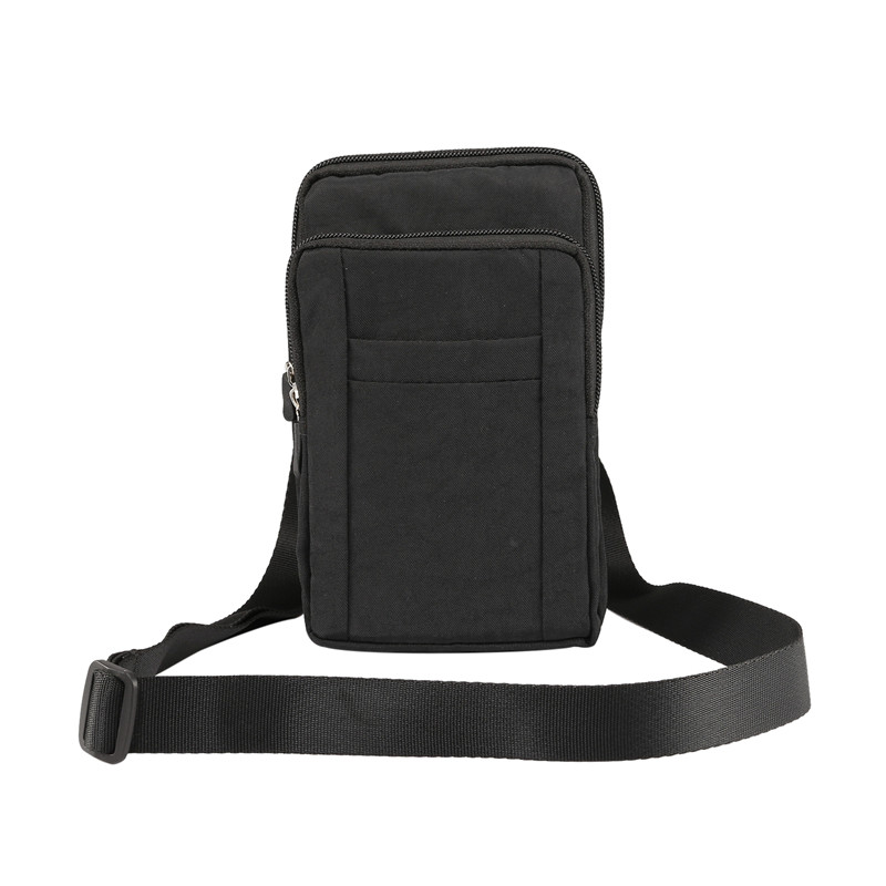 YIANG New Large Waist Bag Men Cell Phone Bag High Quality Waterproof Nylon Casual Waist Pack Utility Belt Pouch With Pen Holder