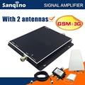 Sanqino GSM UMTS2100MHZ Двухдиапазонный Усилитель Сигнала GSM Репитер 3 Г Сотовый Телефон Booster Усилитель с 2 антенны