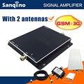 UMTS2100MHZ Sanqino GSM Sinal de Reforço Dual Band GSM Repetidor 3G Impulsionador Celular Amplificador com 2 antena