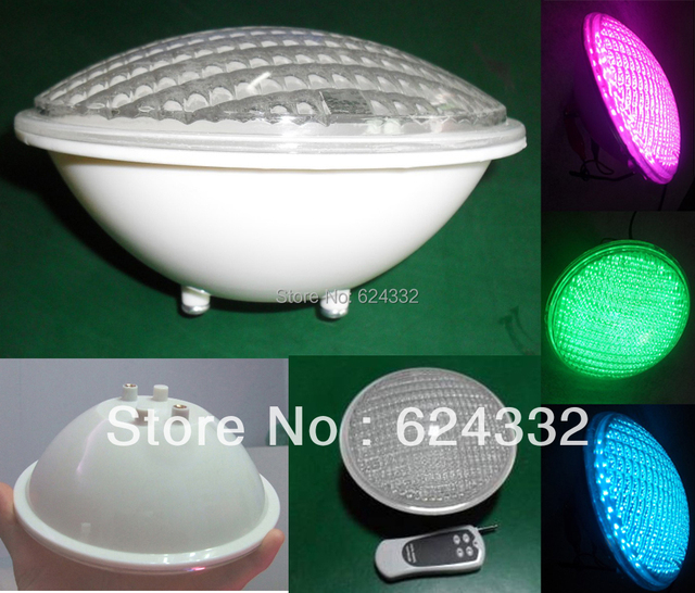 Led Swimming Pool Light Decoration Par56 371 Leds 26w Ac12v Pc Cover Multi Color Underwater