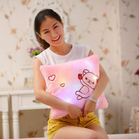 Cute Star Heart Animal Light Cushion Christmas Birthday Gifts Dream Colorful Glow LED Luminous Light Cushion