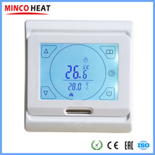 High Quality Touch Screen Weekly Programmable Room Underfloor Heating System Temperature Instrument Floor Heating Thermostat(China)