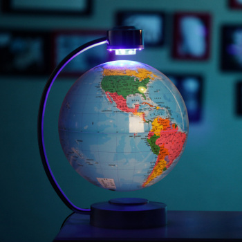 Electronic Magnetic Antigravity Globe For Table Decor