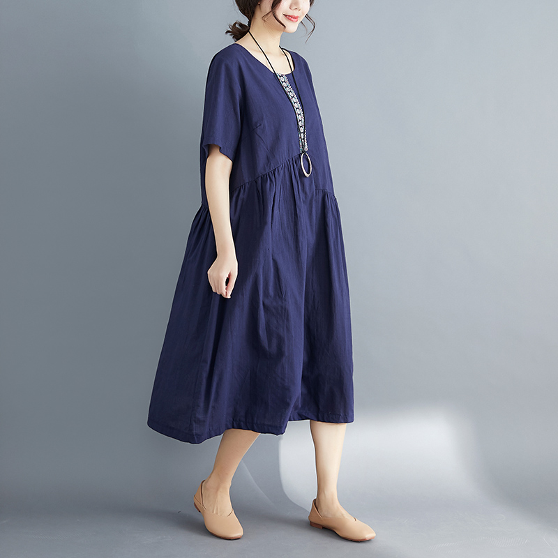 6591# Irregular Patchwork Solid Linen Maternity Long Dress Oversize Loose Clothes for Pregnant Women Plus Size Vintage Pregnancy6591# Irregular Patchwork Solid Linen Maternity Long Dress Oversize Loose Clothes for Pregnant Women Plus Size Vintage Pregnancy