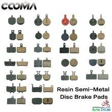 Pastillas de freno de disco de bicicleta para freno de disco variable, 200 pares, resina negro, BP004