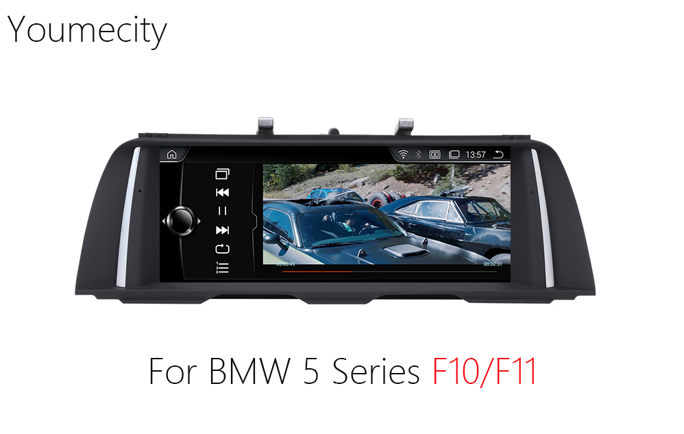 Youmecity 10.2 inch Car DVD GPS for BMW 5 Series F10/F11 2011 2016 years radio video player Android 4.4 Wifi touch Screen
