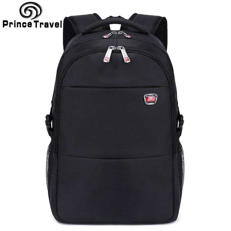 Prince Travel grande capacité sacs à dos sacs à dos de qualité pour 16 17 pouces pochette d'ordinateur bonne qualité sac d'école sac de voyage sac à dos