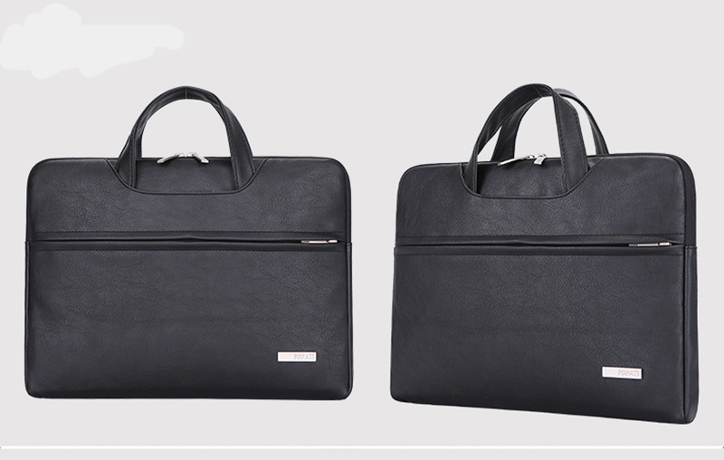 Large Capacity Laptop Handbag Travel Briefcase Bussiness 13 14 15 Notebook _21