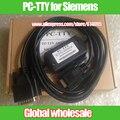 1 unids PC-TTY PLC cable de programación para Siemens S5 series/cable de descarga de serie compatible 6ES5734-1BD20 Electronic Data Systems
