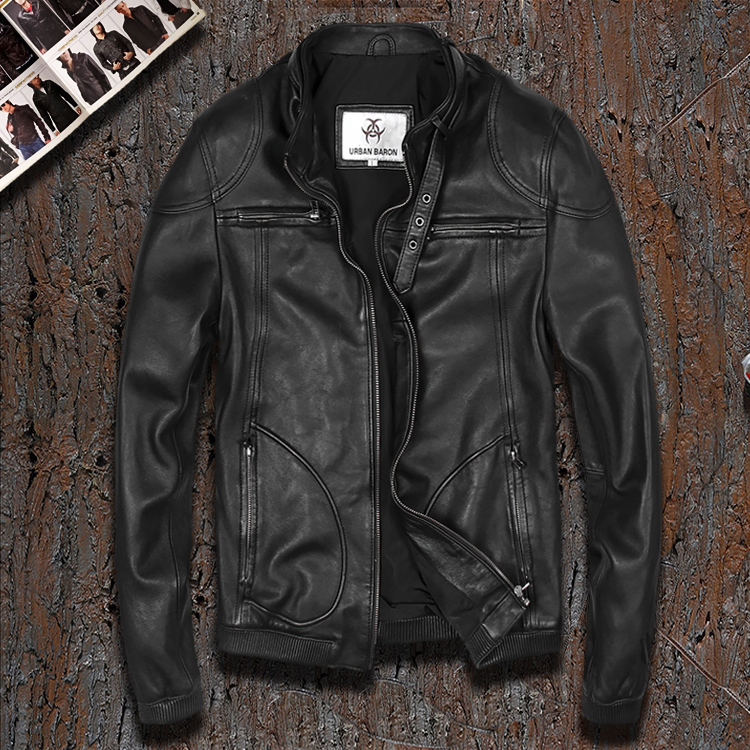 Full Grain Leather Jackets Promotion-Shop for Promotional Full ...