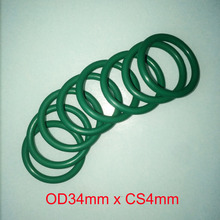 OD34mm x CS4mm viton oil seal o-ring gasket