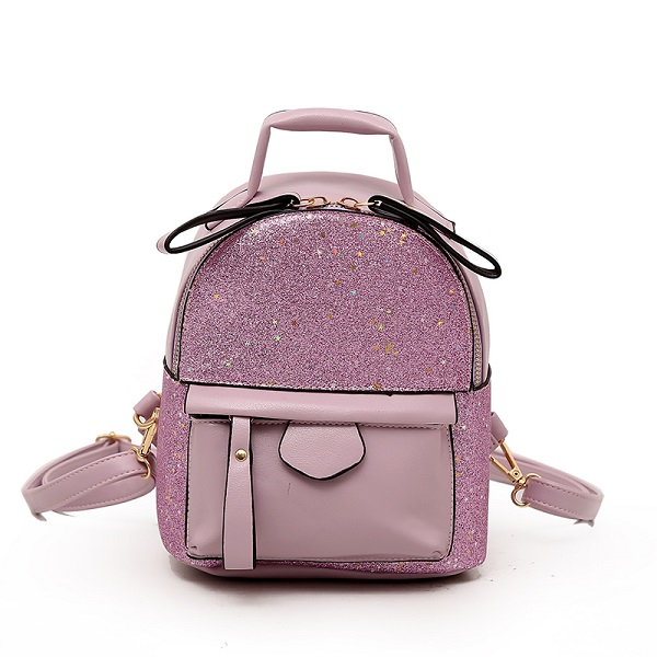 0f692a6d801 Fashion 2019 Sequins PU Leather Women Backpack Children Back Pack Small  Backpacks For Girls Ladies Shoulder Bags Bling