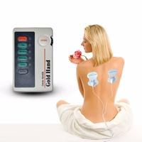 XFT 502 Two Ways 4 Pads Low Frequency TENS Digital Therapy Massager Electrical Stimulator For Body Relaxation Vibrating Massage