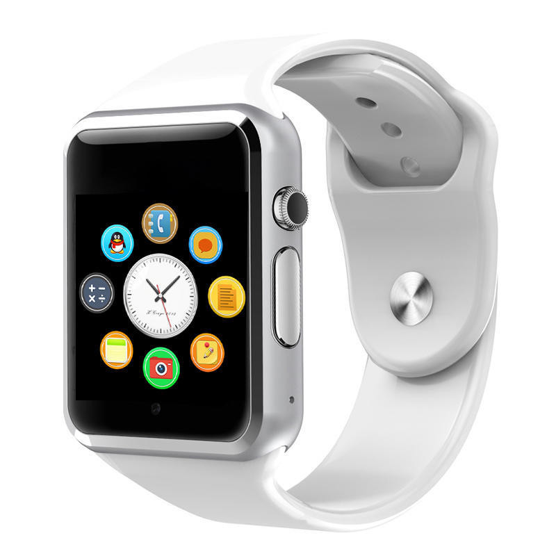 Smart watch a1/men smartwatch a1/android/mulher reloj relógio bluetooth smart watch sim Telefone Suporte para Android inteligente