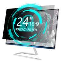 YOSON Screen Privacy Filters 24 inch 16:9 Privacy Screen Protector 220.94x11.77inch/532x299mm Anti-Glare Monitor Filter