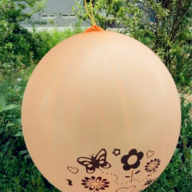 Hot new patted balloons 30pcs lot13inch latex hand painted ballons birthday party decorations kids elastic baloon inflatable toy in Ballons Accessories from Home Garden
