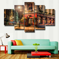 5D Diamond Embroidery Street Scenery Diy Diamond Painting Full Square Rhinestone Pasted Crafts Needlework Gift Home