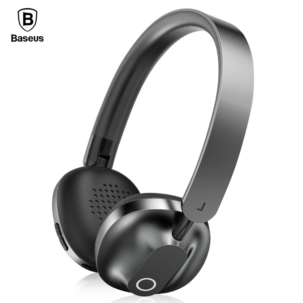 Baseus D01 Bluetooth Earphone Wireless Headphones With Mic Gaming Headset Stereo Auriculares Fone De Ouvido For Phones Computer цена 2017