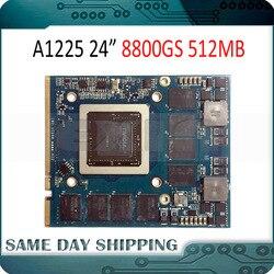 Используется для NVIDIA GeForce 8800GS 8800 GS графическая видеокарта 512 Мб для Apple iMac 24 A1225 VGA карта 661-4664 2008 год