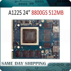 """Image 1 - Utilisé pour NVIDIA GeForce 8800GS 8800 GS carte graphique vidéo 512 mo pour Apple iMac 24 """"A1225 VGA carte 661 4664 2008 an"""