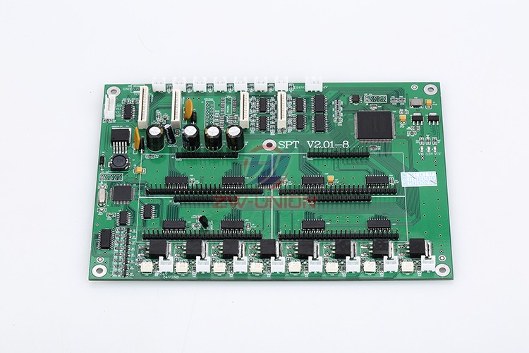 Free shipping!! Crystal solvent printer spare parts 8 Carriage Board free shipping infiniti solvent printer spare parts digital ac servo drive amt 806