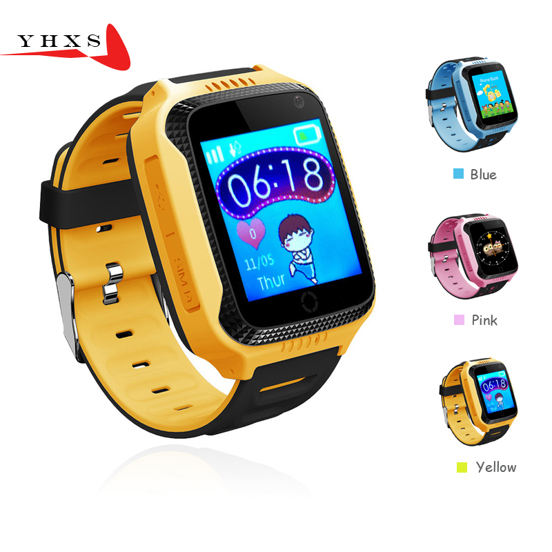 Touch Screen Smart GPS LBS Tracker Location SOS Call Remote Monitor Camera Flashlight Watch Wristwatch for Kids Student Pk Q750