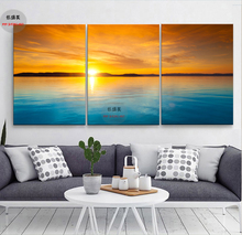 XIN SHENG MEI Canvas Painting Cuadros Canvas Arts Modular Paintings Art Flower Print Home Decoration on The Wall 3P037
