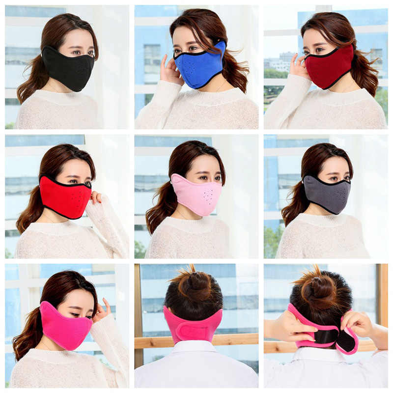 1 Pics New Unisex Warm Winter Mask Health Cycling Anti Dust Nose Protection  Face Mouth Mask a75aa83f5