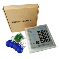 Controle de Acesso Teclado Porta Rfid Para O Sistema de Controle de Acesso RFID Porta com 5 Chave Fobs