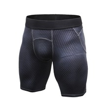 2017 Men Quick-drying Athletic Sports Tight Fitness Running Sports Gym Shorts Pants Briefs Compression Underwear