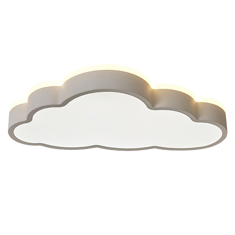 48W/64W Remote Control LED Modern Cloud Shape Ceiling Light  Dimmable Ceiling Lamp Indoor Bedroom Living Room Decor Lighting 48W/64W Remote Control LED Modern Cloud Shape Ceiling Light  Dimmable Ceiling Lamp Indoor Bedroom Living Room Decor Lighting