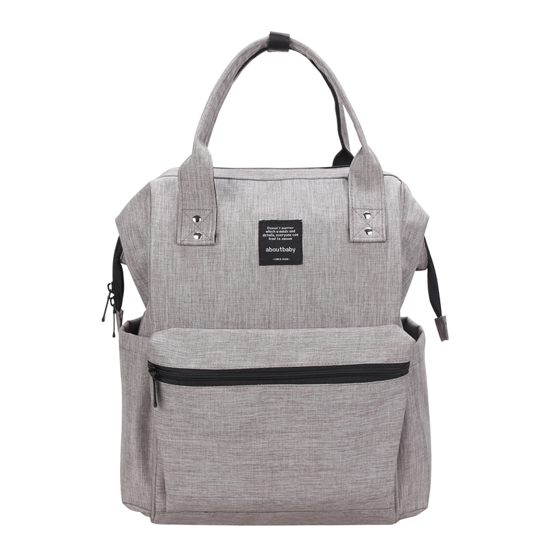 Korean Version of Diaper Bag The Multi-purpose Anti-theft Mummy Backpack Large Capacity Double and Baby Diaper Bags Baby Out