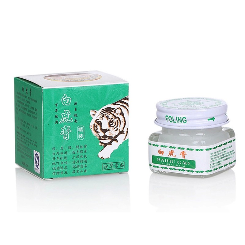 5Pcs Tiger Balm Plaster Ointment Creams Balsamo de Tiger For