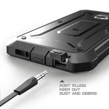 Heavy Duty Hybrid Case для Samsung Galaxy S6 Edge с Зажимом броня Обложка + Подарок Screen Protector Коке Fundas для Galaxy S6 Edge