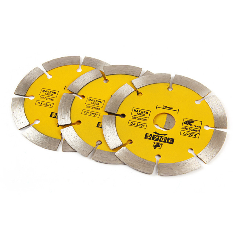 1 Piece 110mm Angle Grinding Machine Dedicated Cutter Diamond Saw Blades Marble Stone Cutting Piece Saw Blades