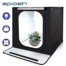 Портативный светильник spash 40 см, складной софтбокс для фотостудии, настольный тент, светильник для фотосъемки