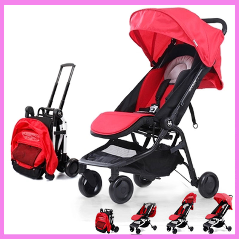 Travel System Airplane Folding Baby Stroller Umbrella High Landscape Pushchair Buggy Trolley Pram Portable Shoulder Bag Suitcase