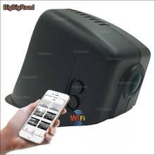 Best Buy BigBigRoad For vw cc 2015 Car wifi DVR Video Recorder HD 1080P front camera black box dash cam g-sensor Keep Car Original Style