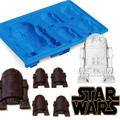 Free Shipping Cool 3D Death Star Wars R2D2 Silicone Ice Cube Tray Ice Chocolate Maker Mold Baking Silicone Mold Tray