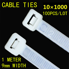100pcs 10*1000mm Black White Plastic Lock Type Nylon Tie Wire National Standard Office Organizer Garden Ties Factory directly factory directly stevia leaves extract stevioside of iso9001 standard