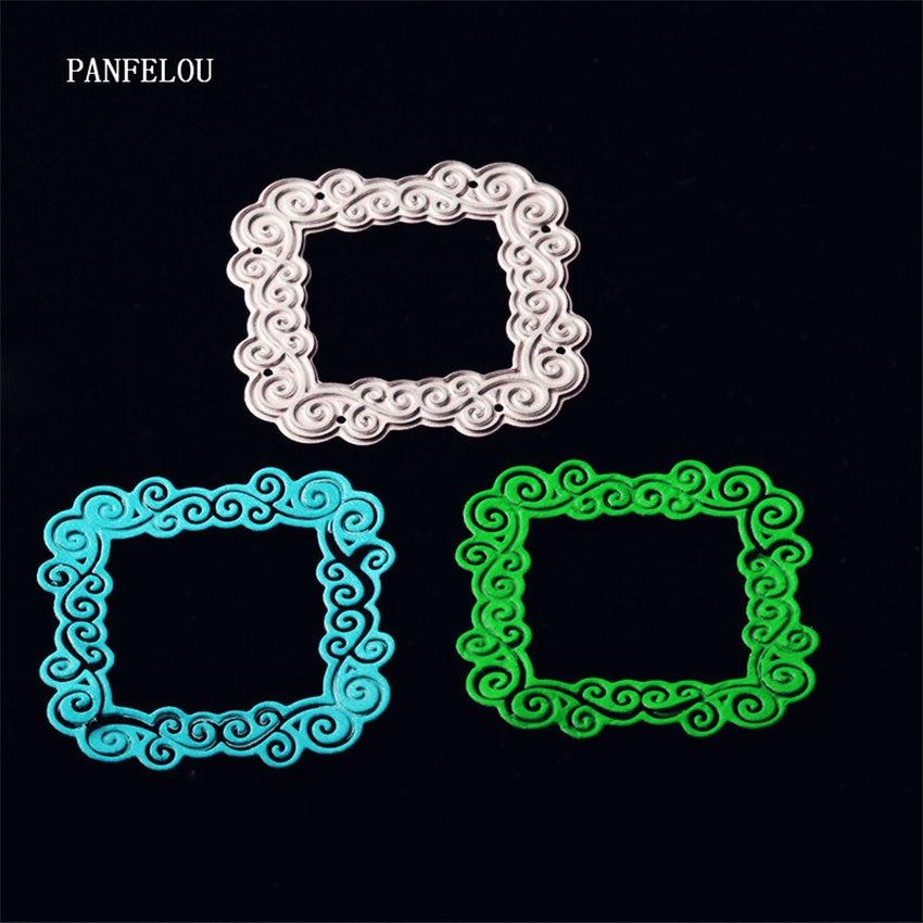 Panfelou корабля металла решетки frame бумаги высечки умирает для Скрапбукинг/DIY Рождество свадьбы Хэллоуин карты