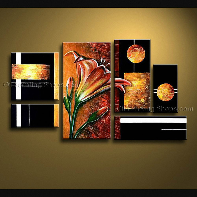 Extra Large Canvas Wall Art Contemporary For Living Room Decorative ...