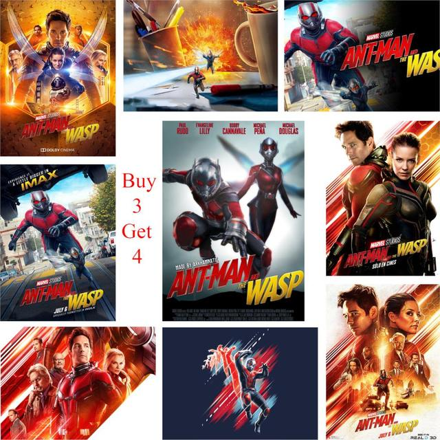 Ant Man And The Wasp Posters Glossy Paper Print Home Decoration