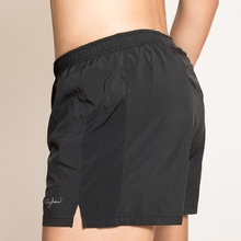 2in1 Men Running Shorts Workout Sports Clothes Fitness Gym Shorts Light Weight Zip Athletic Sport Training Sportswear Patchwork