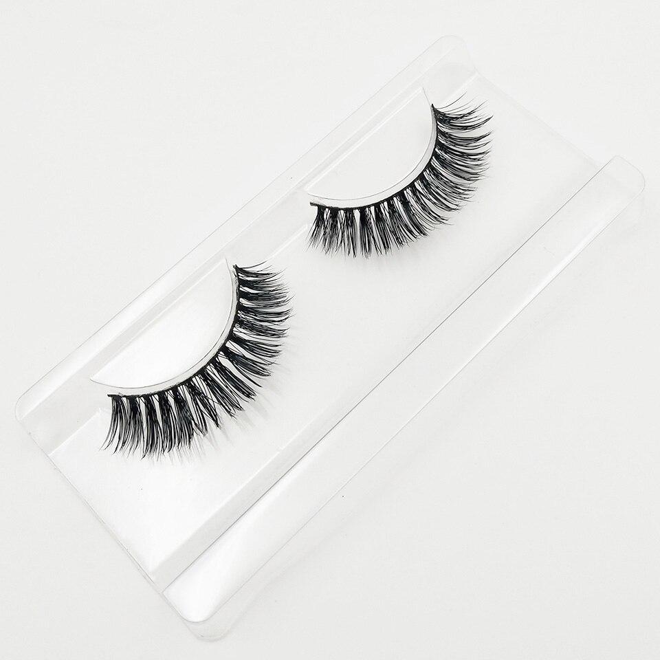 XME015 natural long lashes  (8)